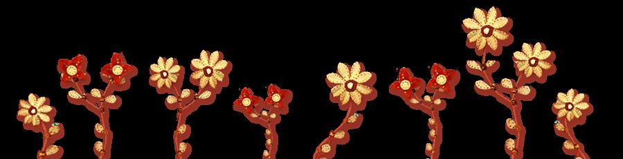 só flores
